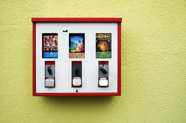 Smart contracts can be thought of as vending machines.